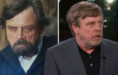 Star Wars 9: Mark Hamill confirms THIS about Luke Skywalker return 'Don't quote me'