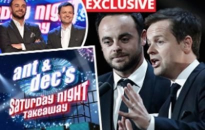 Future of Ant and Dec's Saturday Night Takeaway in doubt, insiders claim
