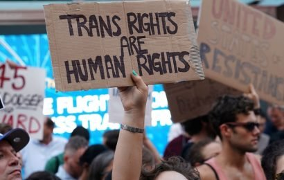 Rights groups slam Trump's ban on transgender military service