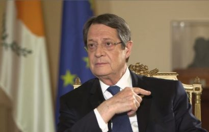 Greek Cypriot president welcomes EU support over gas issue