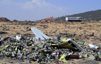Piece found in wreckageshows Ethiopian Airlines 737 Max jet was set to dive, source says