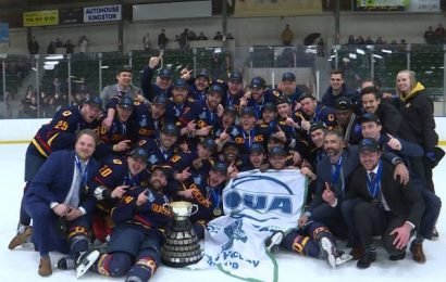 Queen's Cup returns home to Kingston with Gaels men's hockey win