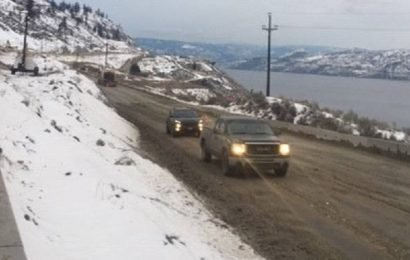 After month-long closure, Highway 97 reopens north of Summerland