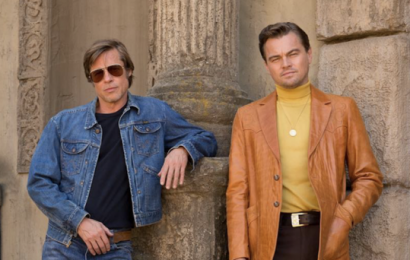 Pitt and DiCaprio in first trailer for Tarantino's Once Upon A Time In Hollywood
