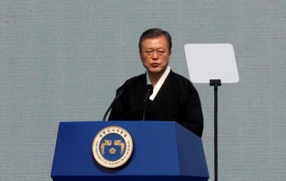 South Korea's Moon names confidant to drive improved ties with North