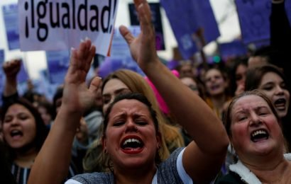 'Don't speak in my name': Women's Day exposes Spain's social divisions
