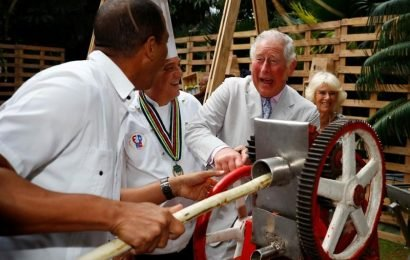 Prince Charles mixes mojitos, grinds sugar cane on last day of Cuba trip