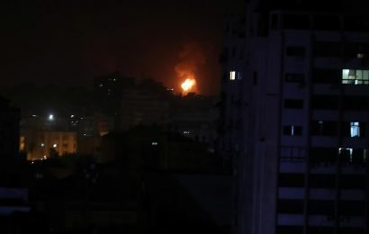 Israel launches Gaza strikes after rockets fired at Tel Aviv
