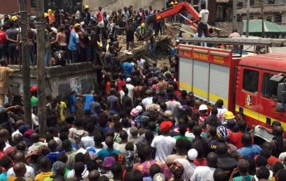 Children feared trapped as school collapses in Nigeria