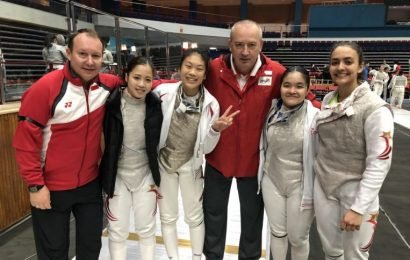 Fencing: Singapore women's junior foil team win historic gold at the Asian Championships