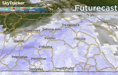 Okanagan weather: More snow, positive temps ahead