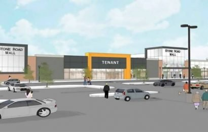 Stone Road Mall replacing former Sears location with new wing