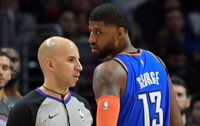 """Paul George Believes The Thunder """"Haven't Gotten A Fair Whistle All Year"""""""