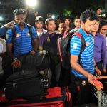 Bangladesh team arrive home after New Zealand mosque shootings