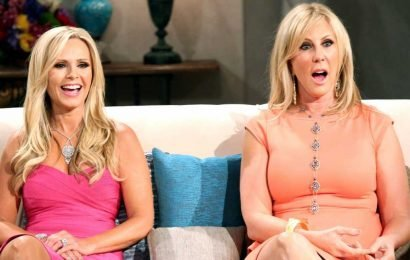Kiss the Bride! 'RHOC' Tamra Smooches Vicki After Engagement: Pic