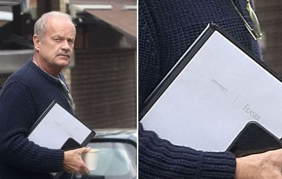 Kelsey Grammer Spotted in London Carrying 'Frasier' Script: Reboot, Anyone?