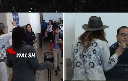 Kate Walsh Melts Down at LAX Over Bag She Left Behind on Flight
