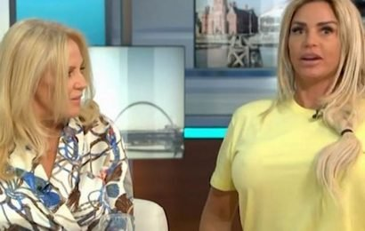 Katie Price told off by mum Amy as she's late for Good Morning Britain interview