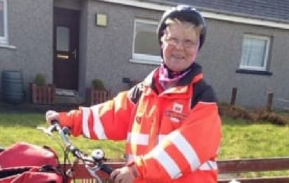 Royal Mail's cycling postie Anne retires as Britain ends its era of post by bike