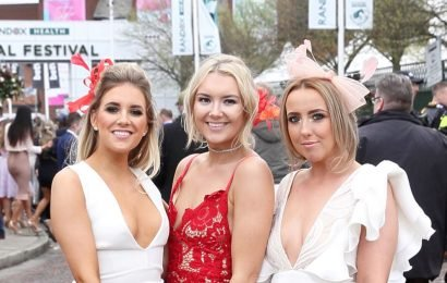 PrettyLittleThing dress takes Aintree by storm as FIVE ladies wear same frock