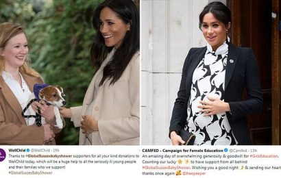 Meghan's favourite charities are 'blown away' by receiving £15K