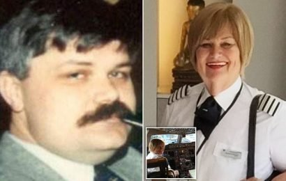 Transgender pilot was 'grumpy old so-and-so' before coming out