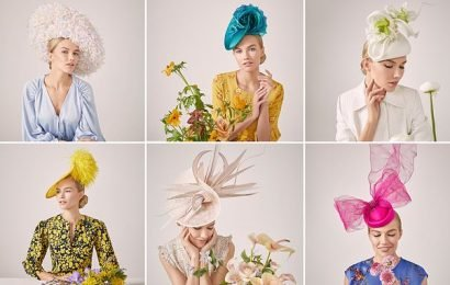 Milliners showcase hat collection perfect forRoyal Ascot