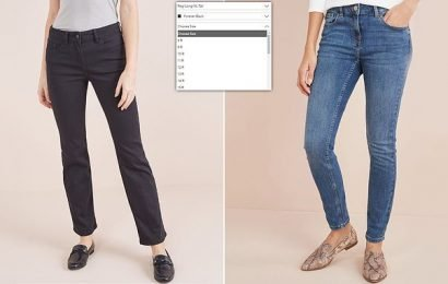 Next introduce 'in-between' jeans for women stuck between two sizes