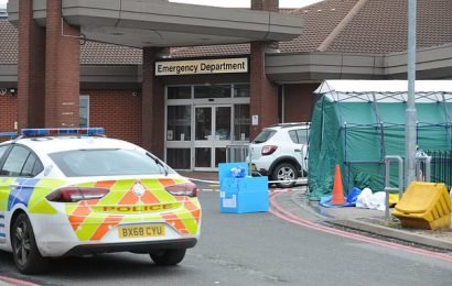 Emergency services shut down hospital including A&E department