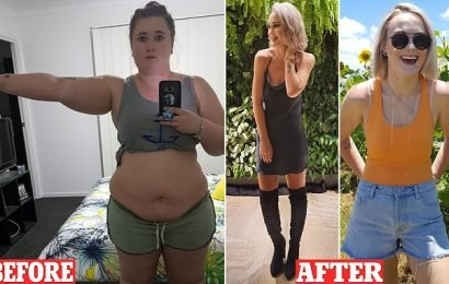 This woman doesn't recognise herself after losing 62 kilos