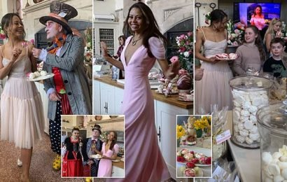 Viscountess Weymouth shares a glimpse inside glamorous Easter party