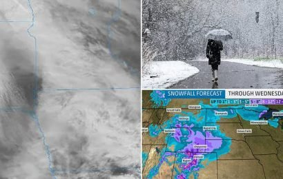 Winter Storm Xyler blasted the Midwest with up to seven inches of snow