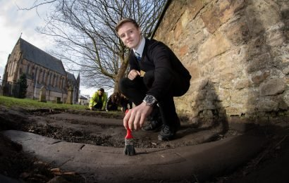 Teen discovers long-lost monument from ancient kingdom