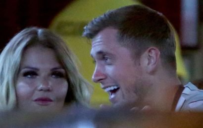 Dan Osborne's boozy night out with glam PR pal after he slams flirting claims