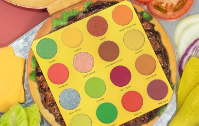 The Burger-Themed Eye Palette Is Finally Here — And You Need To See The Pickles Shade