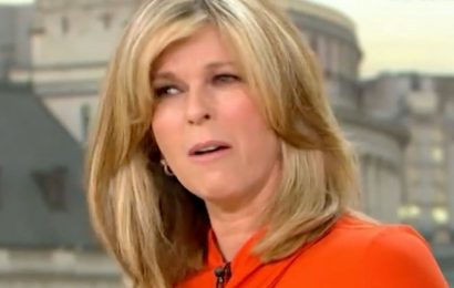 Kate Garraway stunned as she's branded the most beautiful woman in the world