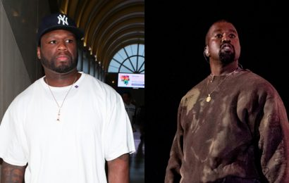 50 Cent Disses Kanye West's Yeezy Clothing Line: 'I'm Definitely Not Wearing That' Crap