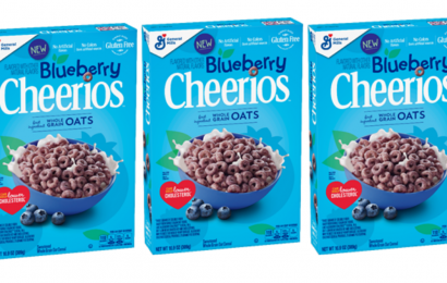 Cheerios' Blueberry-Flavored Cereal For Spring 2019 Is A Fruity Bite To Start Your Day