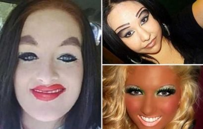 Biggest beauty fails of all time, from plucking awful brow blunders to bright orange fake tan