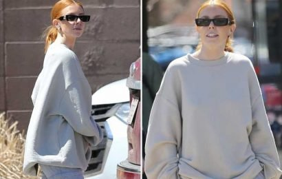 Stacey Dooley all smiles as she films new documentary in the US after Kevin Clifton scandal