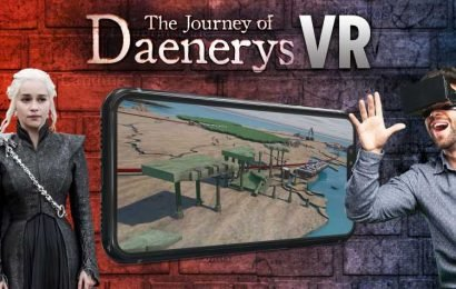 Game of Thrones fans can fly through Daenerys' epic journey with our amazing virtual reality map