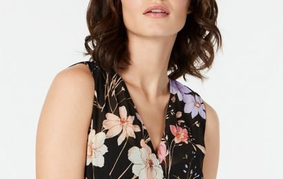 This Floral Calvin Klein Dress Is Basically a Compliment Magnet
