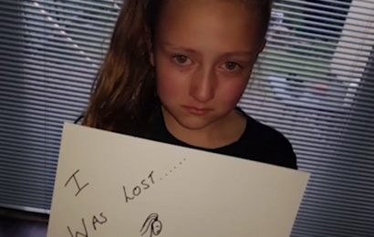 Nine-year-old girl hits back at bullies who made her 'miserable and lonely' after her new school makes her feel strong, 'kinda funny' and like a good friend