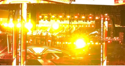 WWE fans chant 'we can't see' at WrestleMania as yellow lights 'ruin view of ring'