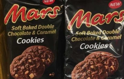 B&M is selling Mars bar chocolate caramel cookies – and they're only £1