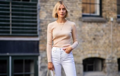 The Only Pair of White Jeans We'll Ever Need In Our Closet
