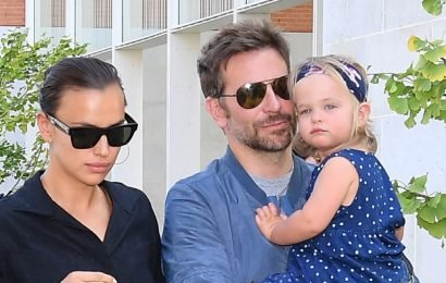 Bradley Cooper and His Daughter Photobombed Someone's Workout