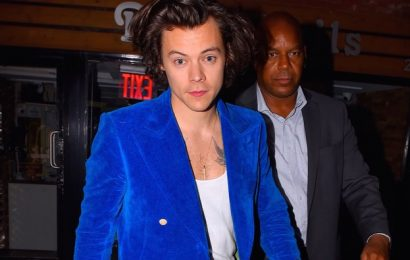 Harry Styles Actually Left the House, to Catch a Blackpink Concert