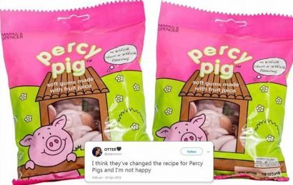 M&S slammed for changing Percy Pig recipe to keep vegetarians happy