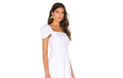 Our Favorite White Dress for Spring Is Insanely Flattering and Under $100